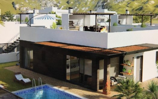 New build villa in Polop Hills