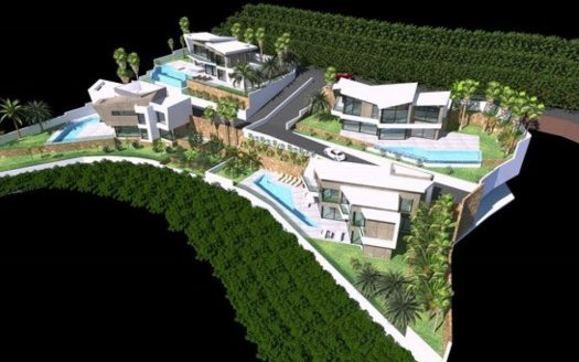 Luxueuze villa's in Calpe