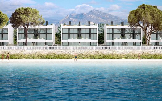 Frontline Villas for sale close to El Campello beach